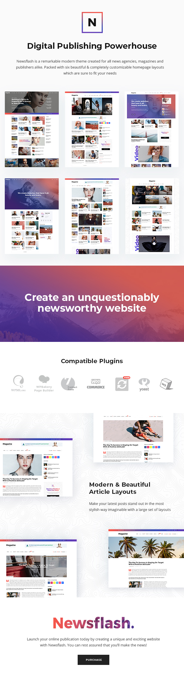 Newsflash - News Magazine Theme - 1